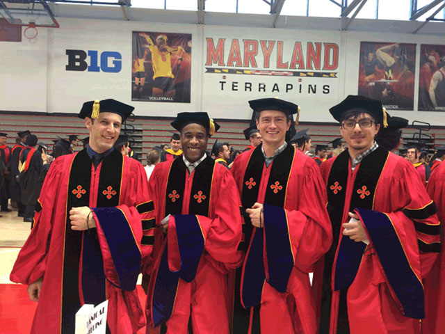 Dr. Greg Hitz, Dr. Romaine Isaacs, Dr. Dominik Metzler, and Dr. Mert Vural
