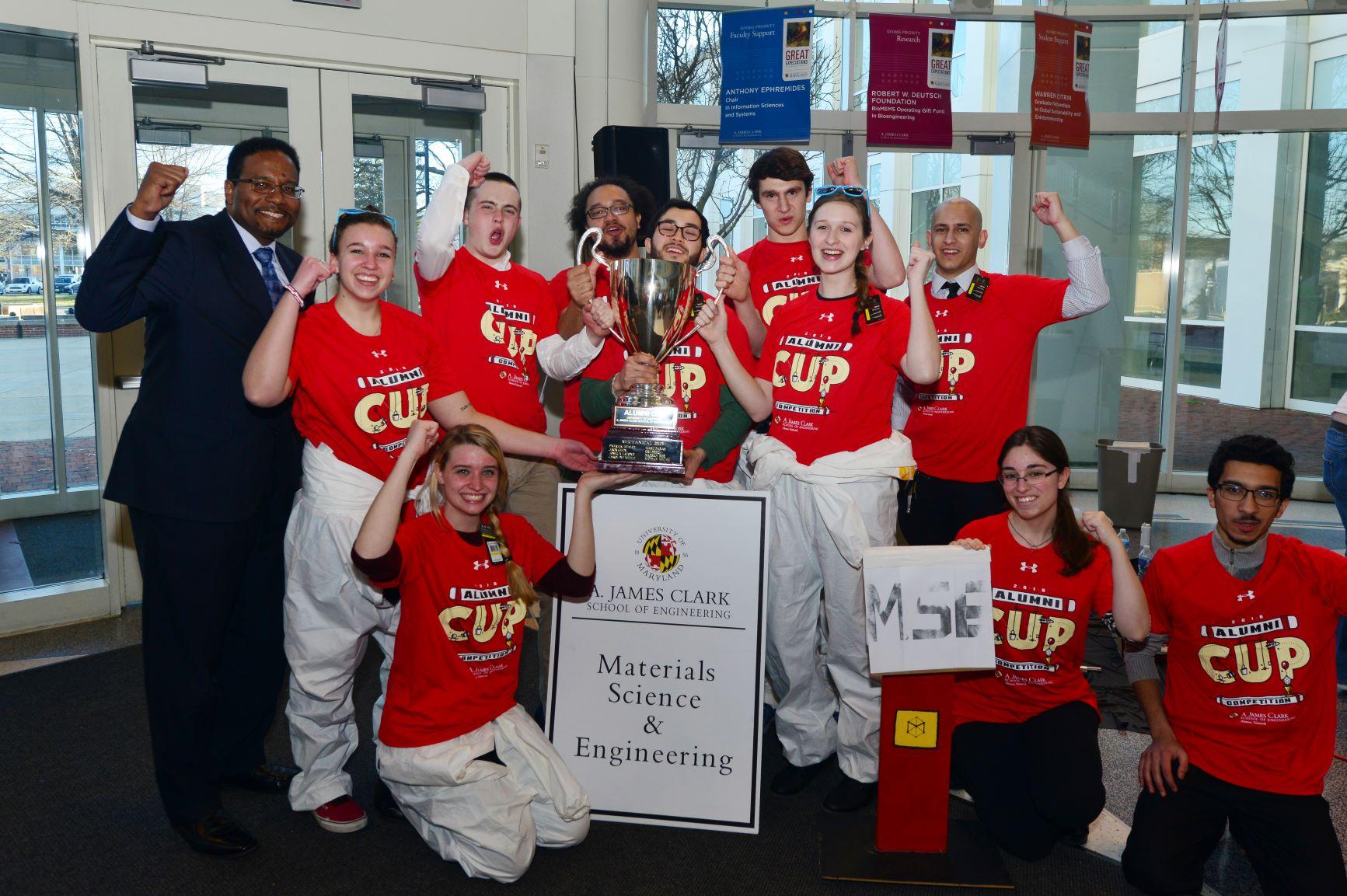 MSE alumni cup winners 2016