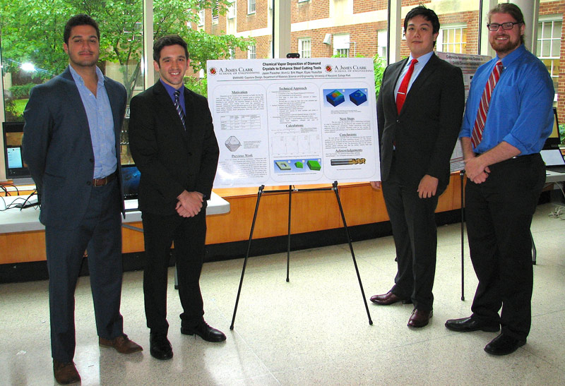 MSE capstone students