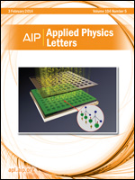 Applied Physics Letters cover