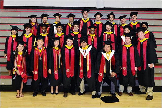 undergraduate (B.S.) Class of May 2015