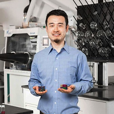 Yonggang Yao, a Ph.D. candidate in the UMD Department of Materials Science and Engineering